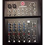 Harbinger 8 CHANNEL COMPACT MIXER Line Mixer