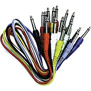 Hosa 8-Pack Cables