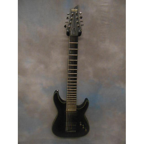 Schecter Guitar Research 8 String Blackjack SLS Solid Body Electric Guitar-thumbnail