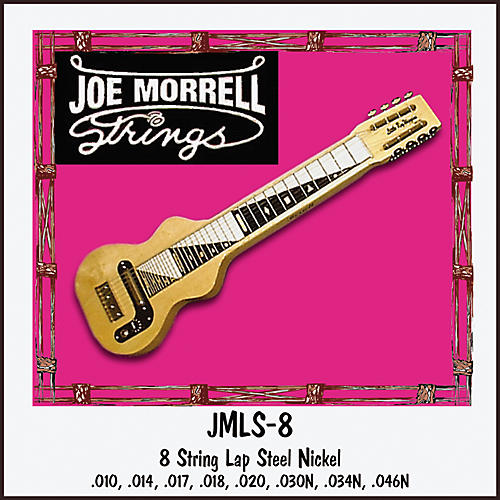 Morrell Music 8-String Lap Steel String Set-thumbnail