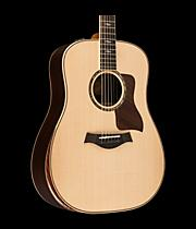 Taylor 800 Deluxe Series 810e Dreadnought Acoustic-Electric Guitar
