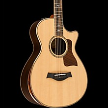 Taylor 800 Deluxe Series 812ce DLX 12-Fret Grand Concert Acoustic-Electric Guitar Natural