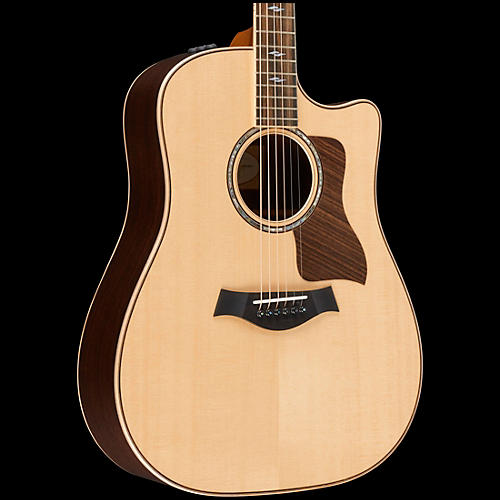 taylor 800 series 810ce dreadnought acoustic electric guitar natural guitar center. Black Bedroom Furniture Sets. Home Design Ideas