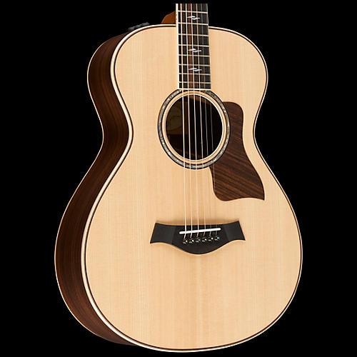 Taylor 800 Series 812e 12-Fret Grand Concert Acoustic-Electric Guitar Natural