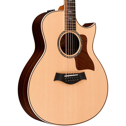 taylor 800 series 856ce 12 string grand symphony acoustic electric guitar natural guitar center. Black Bedroom Furniture Sets. Home Design Ideas