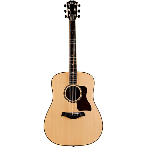 Taylor 800 Series Limited Edition 810e Brazilian Rosewood Dreadnought Acoustic-Electric Guitar Natural