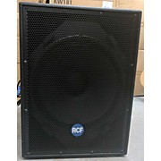 RCF 8001 Powered Subwoofer