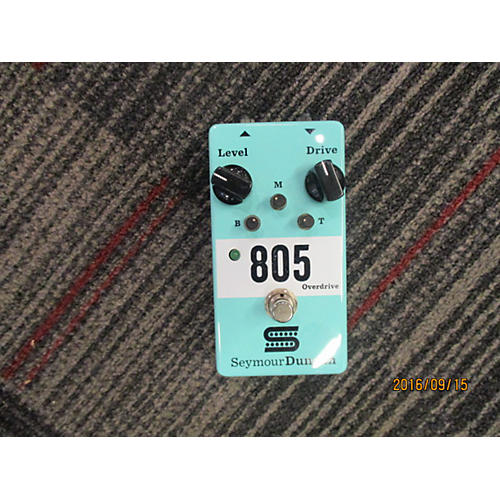 Seymour Duncan 805 Overdrive Effect Pedal-thumbnail