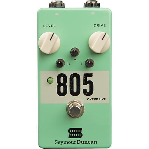 Seymour Duncan 805 Overdrive Guitar Effects Pedal