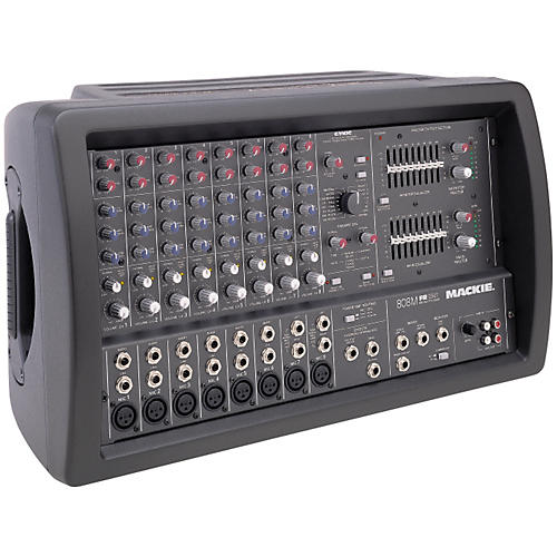 Mackie 808M 8-Channel Mono Powered Mixer