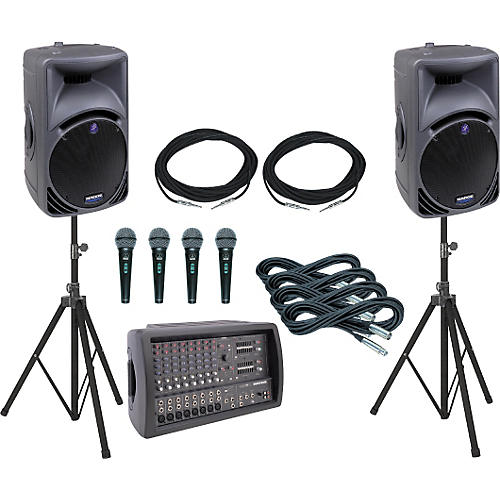 Mackie 808M/C300i PA Package