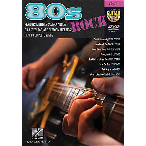 Hal Leonard 80S Rock - Guitar Play-Along DVD Volume 9