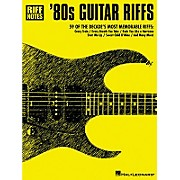 Hal Leonard 80s Guitar Riffs Guitar Tab Book