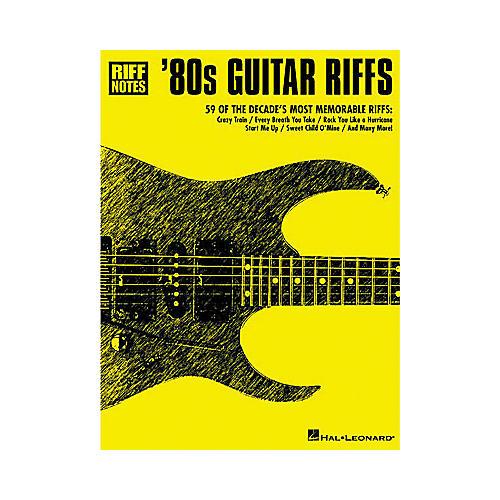 Hal Leonard 80s Guitar Riffs Guitar Tab Book-thumbnail