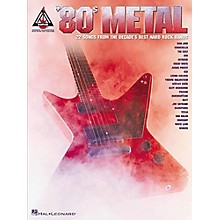 Hal Leonard 80s Metal Guitar Tab Songbook