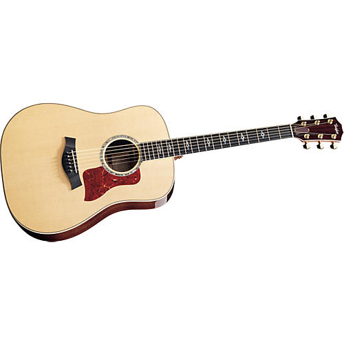 Taylor 810 Dreadnought Acoustic Guitar (2010 Model) Natural