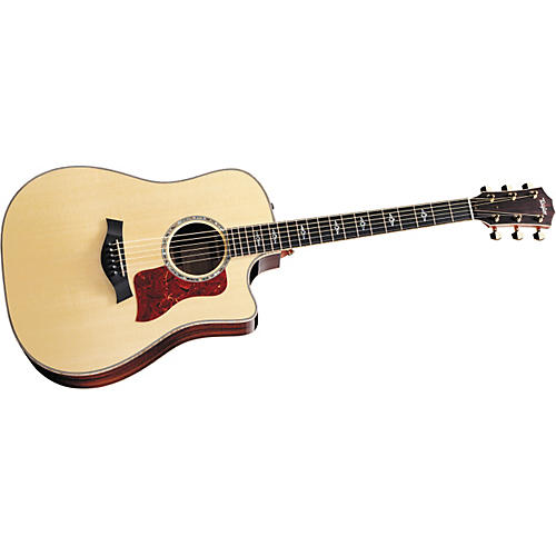Taylor 810ce-L Rosewood/Spruce Dreadnought Left-Handed Acoustic-Electric Guitar-thumbnail