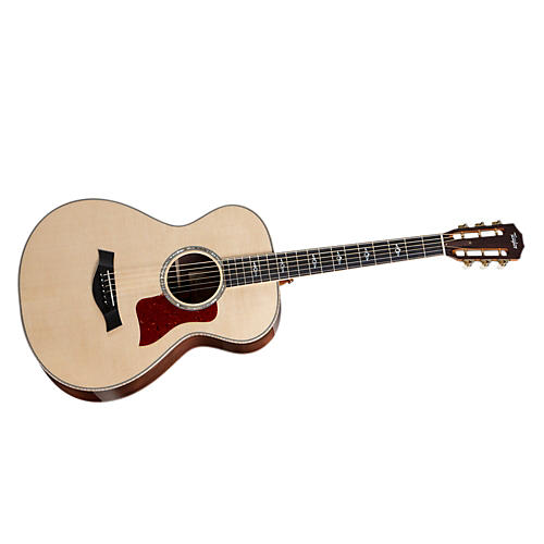 Taylor 812 12-Fret Rosewood/Spruce Grand Concert Acoustic Guitar Natural