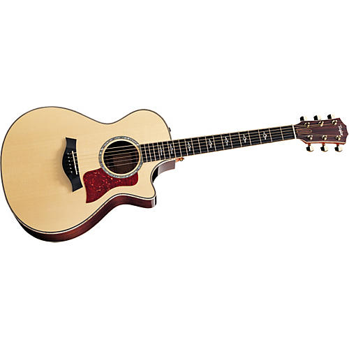 Taylor 812ce Rosewood/Spruce Grand Concert Acoustic-Electric Guitar Natural