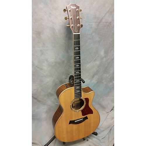used taylor 814ce ltd acoustic electric guitar natural guitar center. Black Bedroom Furniture Sets. Home Design Ideas