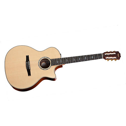 Taylor 814ce-N Rosewood/Spruce Nylon String Grand Auditorium Acoustic-Electric Guitar Natural