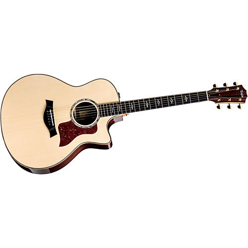 Taylor 816ce-L Rosewood/Spruce Grand Symphony Left-Handed Acoustic-Electric Guitar Natural