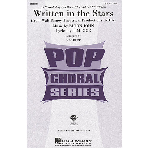 Hal Leonard 8201101 Written in the Stars
