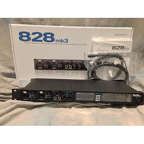MOTU 828MK3 Hybrid Audio Interface-thumbnail
