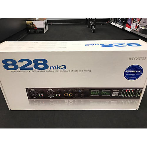 MOTU 828MK3 Hybrid Audio Interface