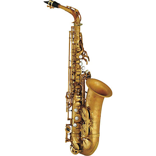 Yamaha 82Z Alto Saxophone - Unlacquered without High F#