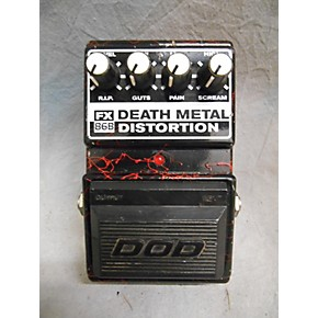 used dod 86b death metal distortion effect pedal guitar center. Black Bedroom Furniture Sets. Home Design Ideas