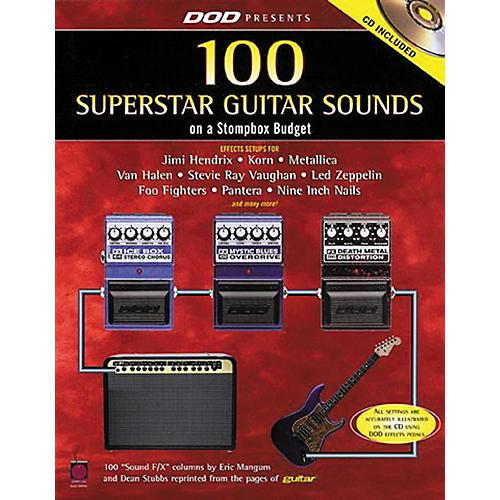 Hal Leonard 87 Superstar Guitar Sounds on a Stompbox Budget Book