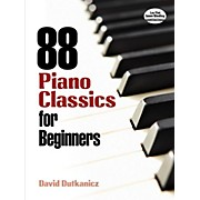 Alfred 88 Piano Classics for Beginners Book