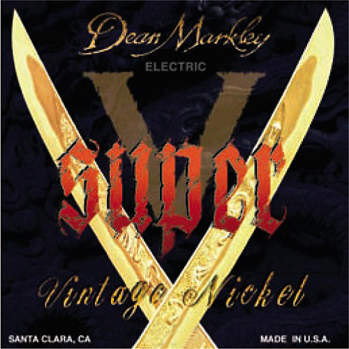 Dean Markley 8826 Super V Medium Electric Guitar Strings