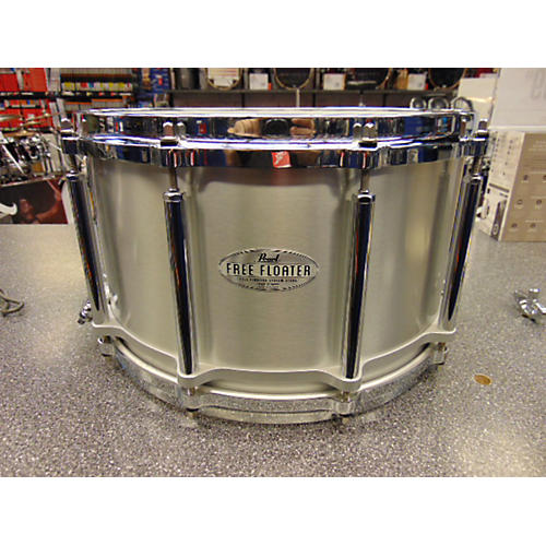 Pearl 8X14 Free Floating Snare Drum ALUMINUM 18
