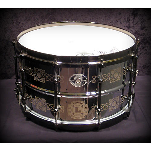 In Store Used 8X14 JIM RILEY BLACK MAGIC Drum