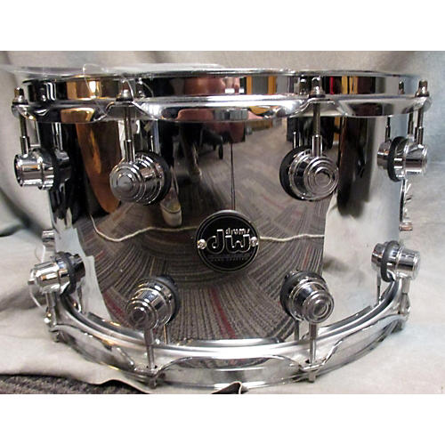 DW 8X14 Performance Series Steel Snare Drum Stainless 18