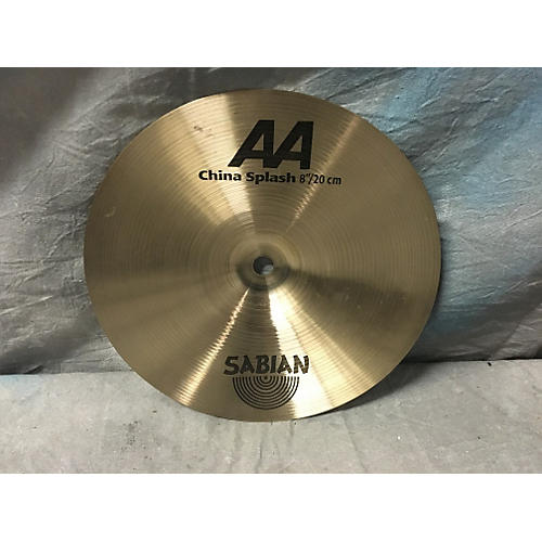 Sabian 8in AA China Splash Brilliant Cymbal