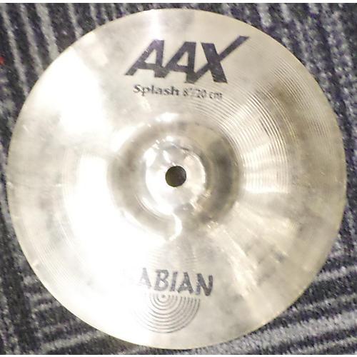 Sabian 8in AAX Splash Brilliant Cymbal-thumbnail
