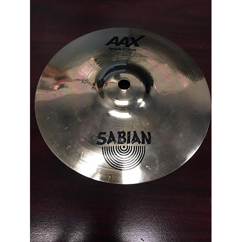 Sabian 8in AAX Splash Brilliant Cymbal-thumbnail
