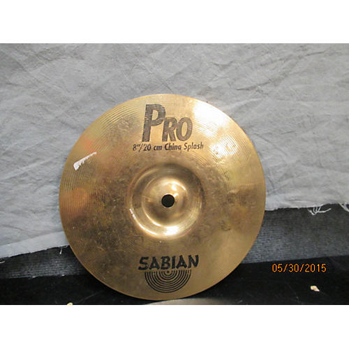 Sabian 8in Pro China Splash Cymbal
