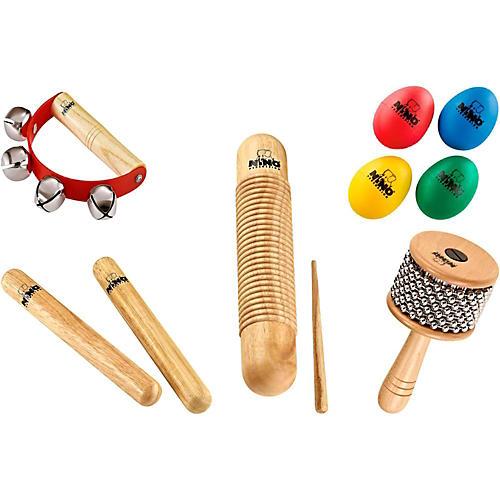 Nino 9-Piece Mixed Small Percussion Set-thumbnail