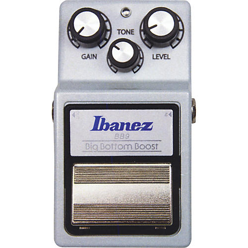 Ibanez 9 Series BB9 Big Bottom Boost Guitar Effects Pedal Silver