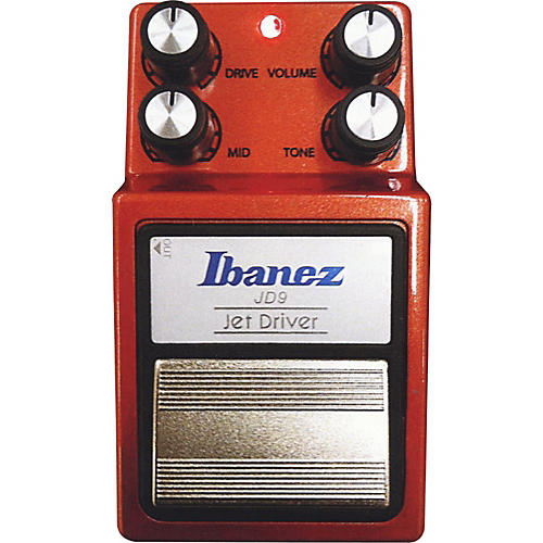 Ibanez 9 Series JD9 Jet Driver Overdrive Guitar Effects Pedal-thumbnail