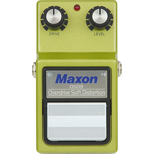 Maxon 9-Series OSD-9 Overdrive/Soft Distortion Pedal-thumbnail