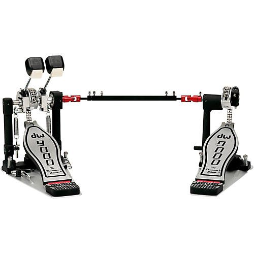 DW 9000 Series Double Bass Drum Pedal (Lefty Version)-thumbnail