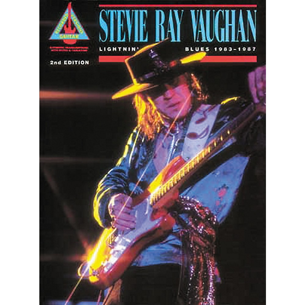 Hal Leonard Stevie Ray Vaughan Lightnin' Blues 1983-1987 Guitar Tab Book 1274034476680