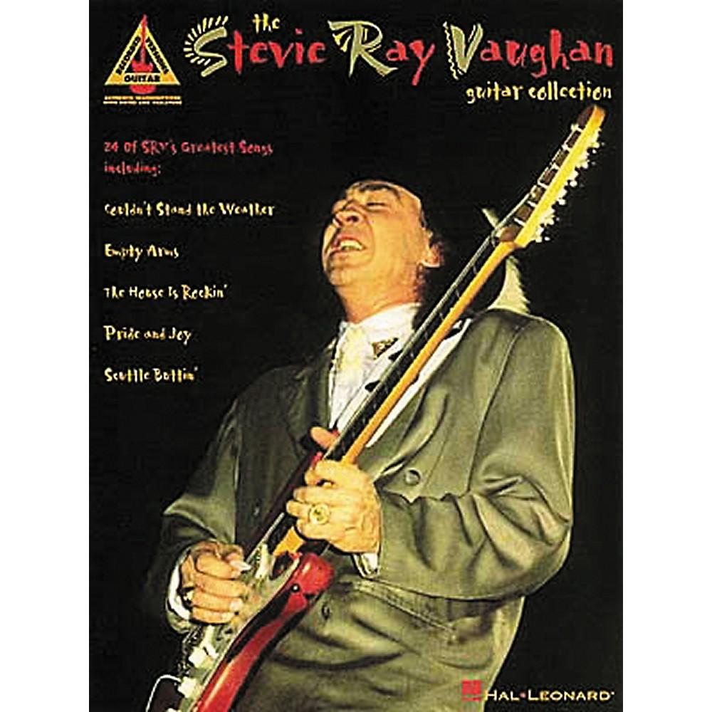 Hal Leonard Stevie Ray Vaughan Collection Guitar Tab Book 1274034474701