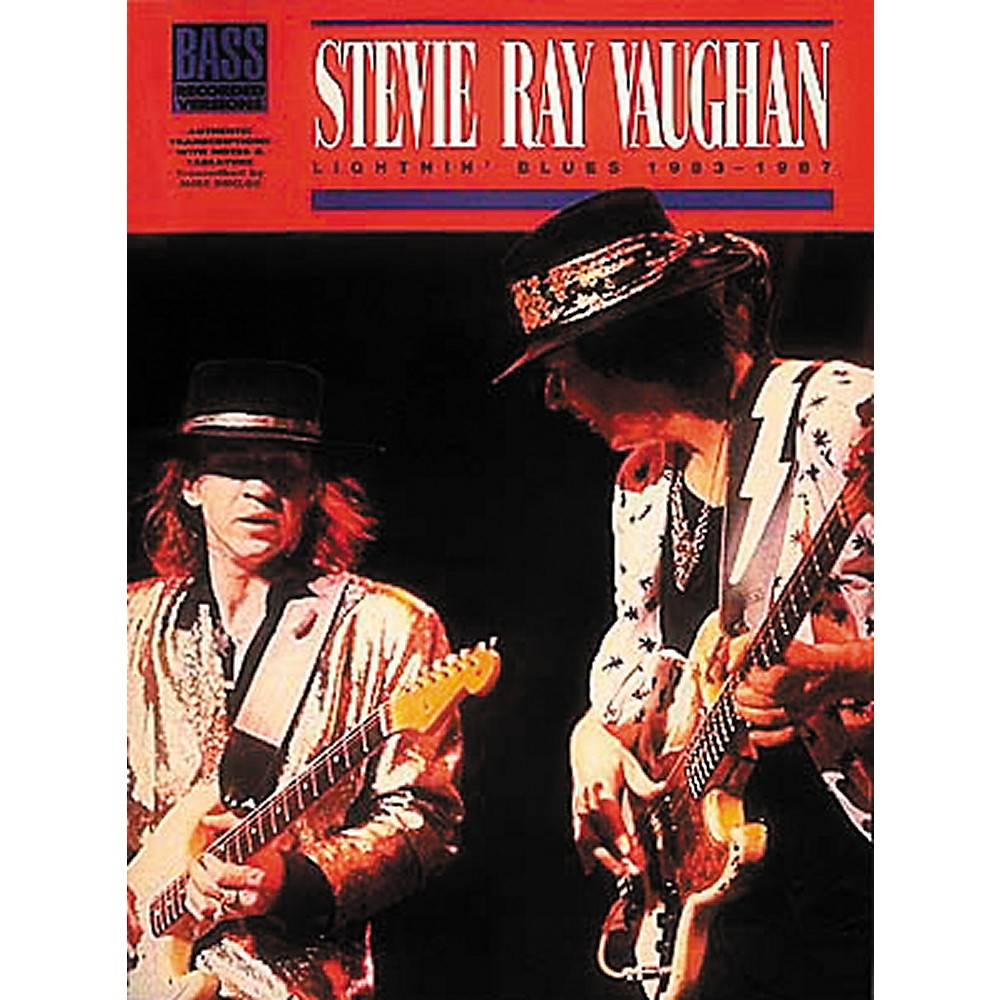 Stevie Ray Vaughan Lightnin' Blues 1983 1987 Bass Tab Songbook 1274034473399
