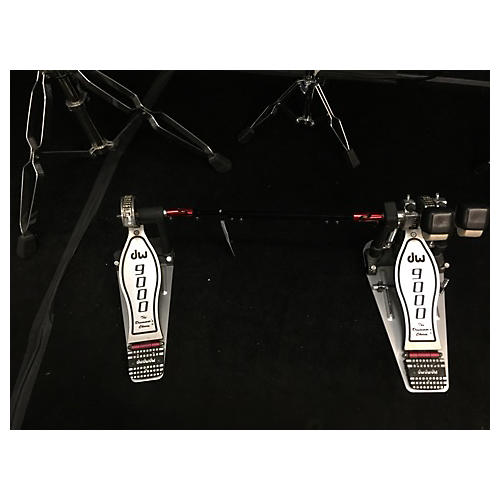 DW 9002PC Double Double Bass Drum Pedal-thumbnail